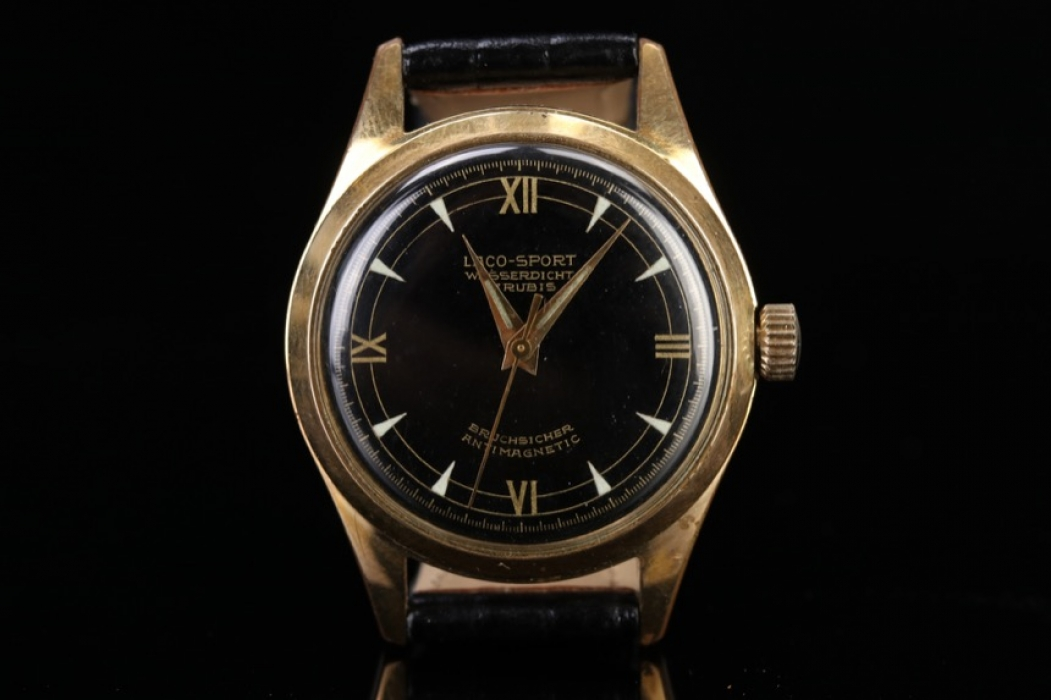 Laco - Watch with gold double case