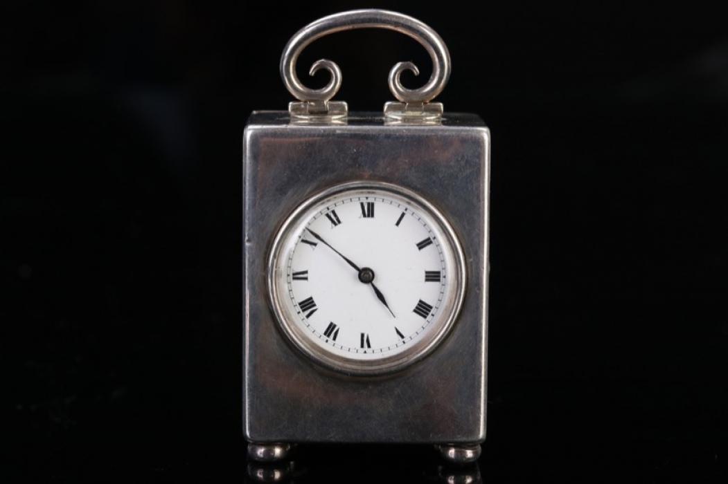 Swiss travel watch - sterling silver