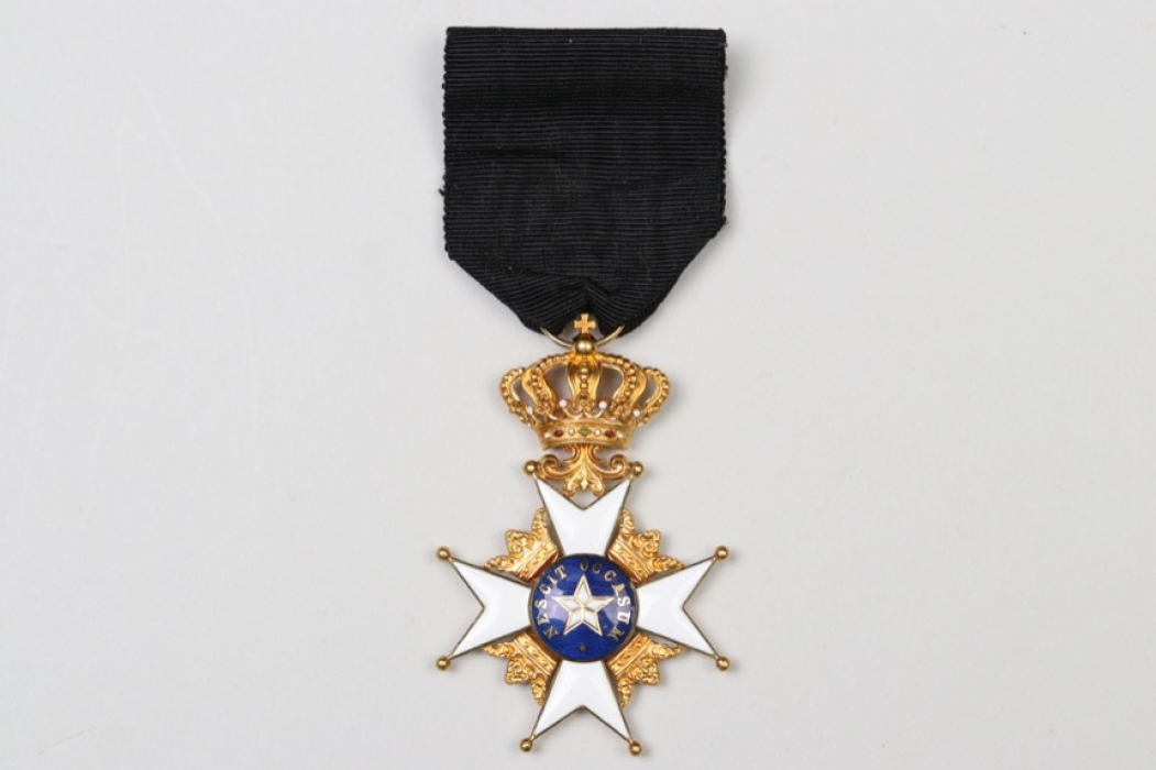 Sweden - Order of the Polar Star, Knight's Cross