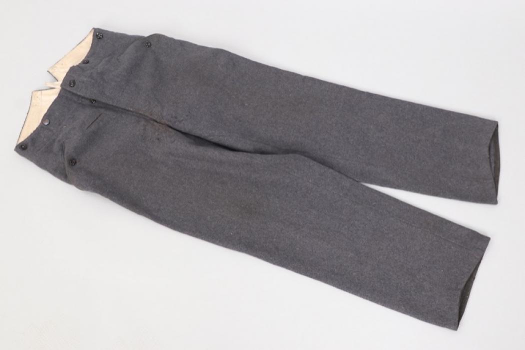 Luftwaffe straight field trousers - LBA41