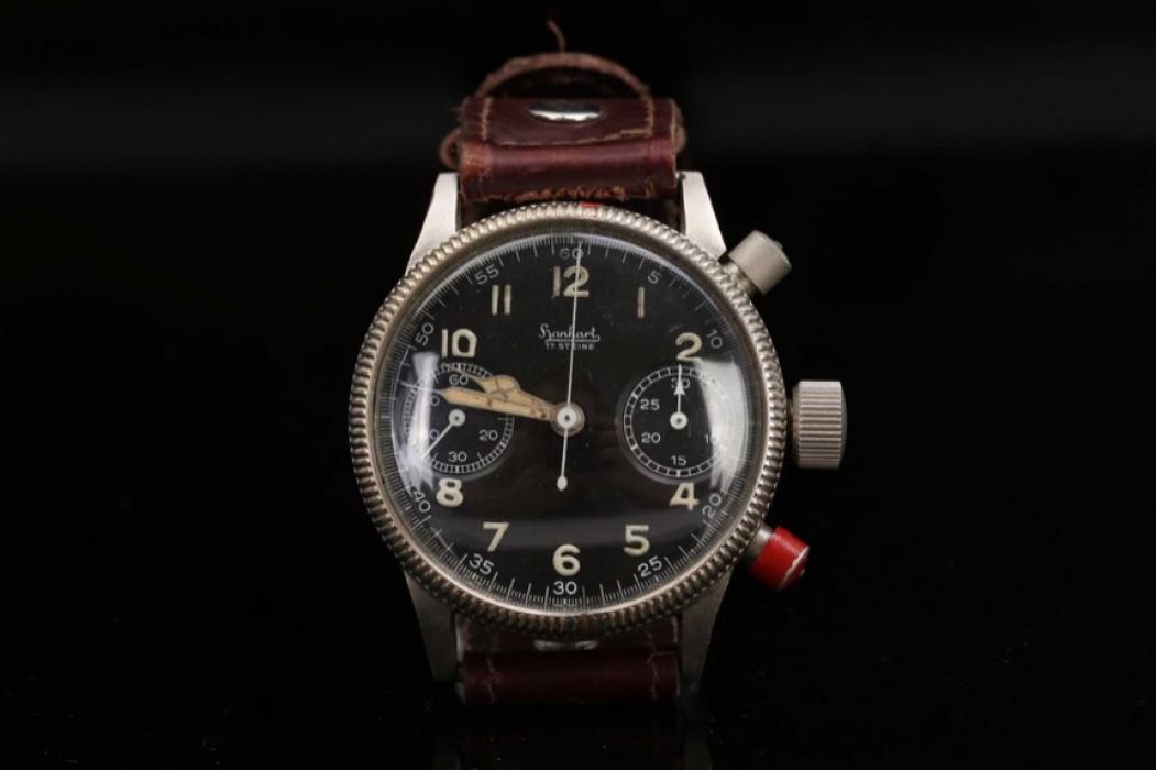 Luftwaffe double-button pilot's chronograph - Hanhart