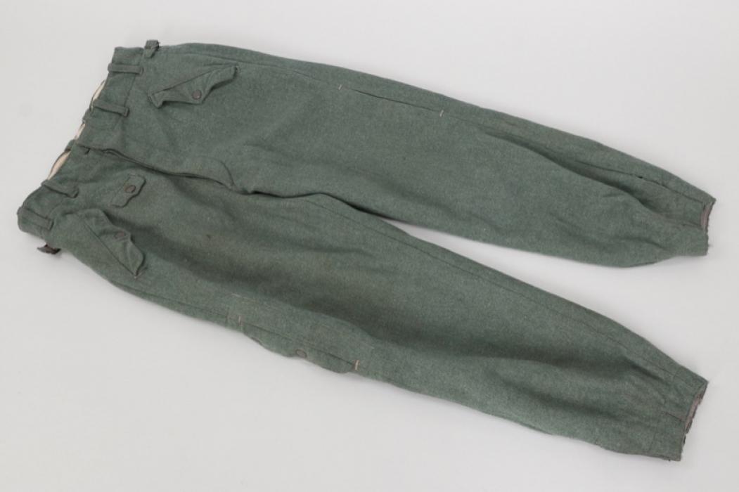 Luftwaffe Fallschirmjäger jumping trousers - 2nd pattern