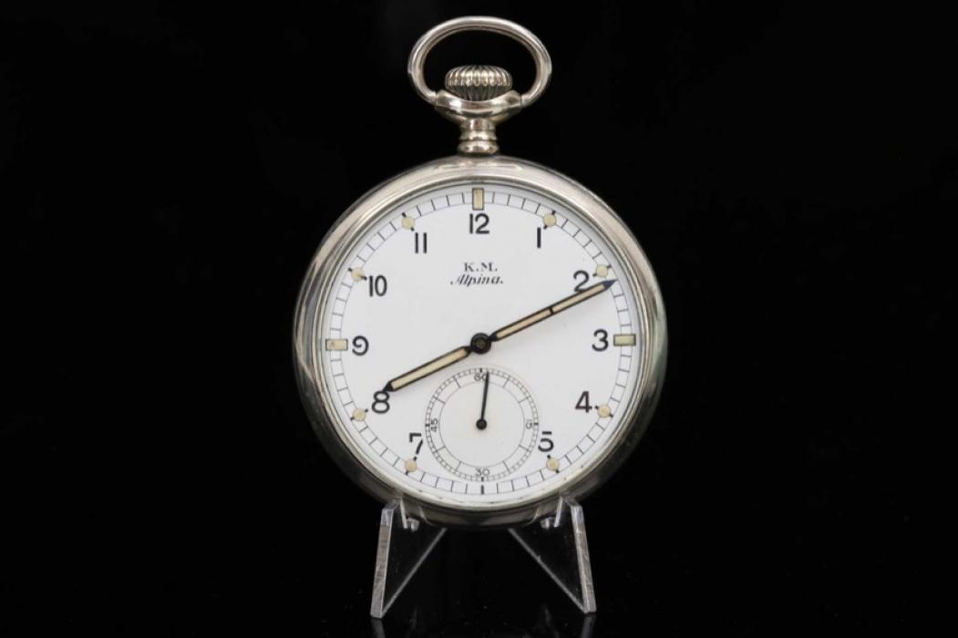 Alpina Kriegsmarine official pocket watch