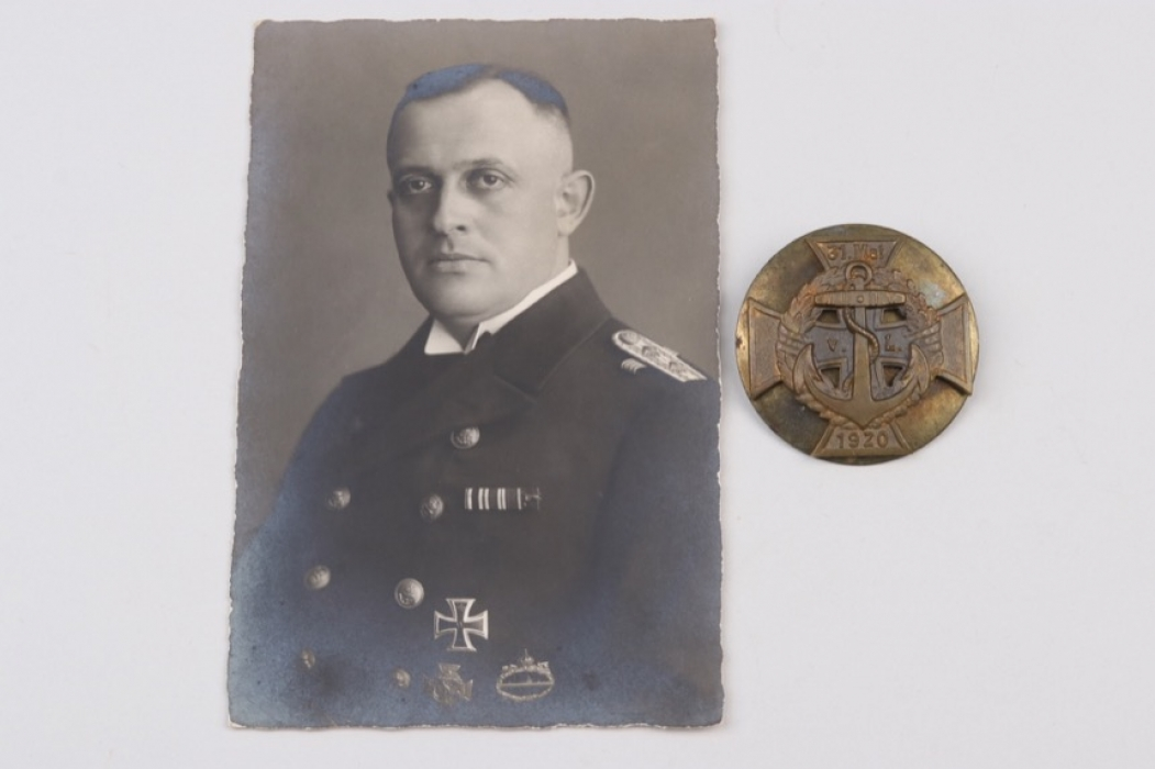 Fischer, Waldemar v. - Freikorps von Loewenfeld Cross with photo proof