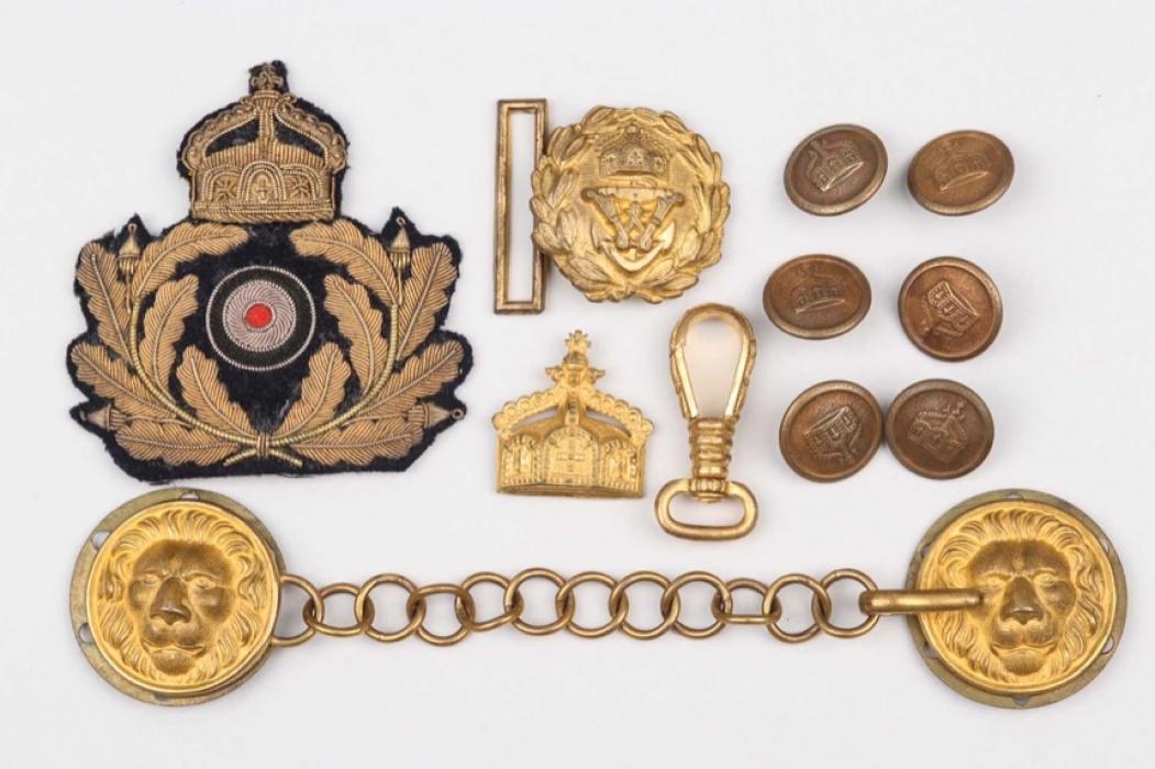 Fischer, Waldemar v. - WWI & II insignia