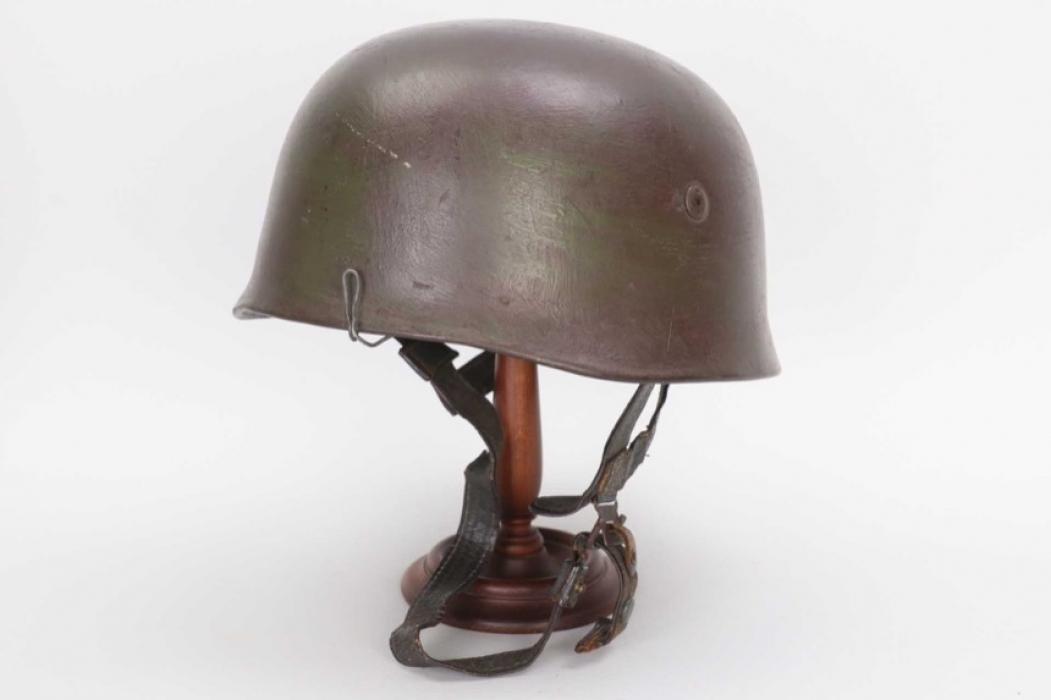 "Luftwaffe M38 Fallschirmjäger camo ""wire"" helmet - ET68"