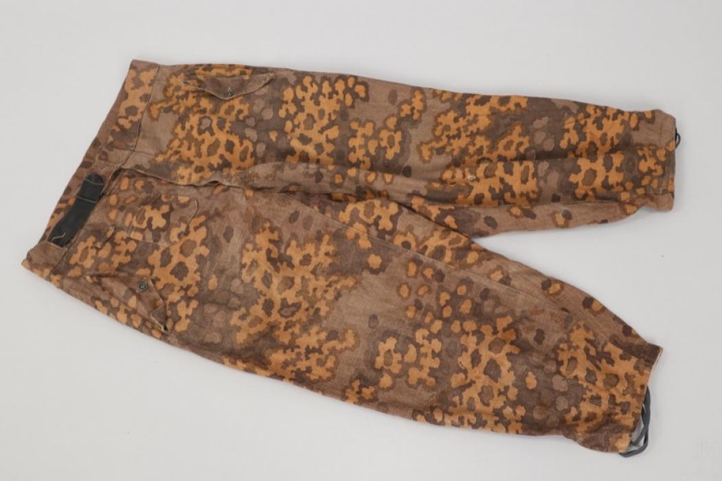 "Waffen-SS M44 Panzer ""oak leaf"" camo trousers"