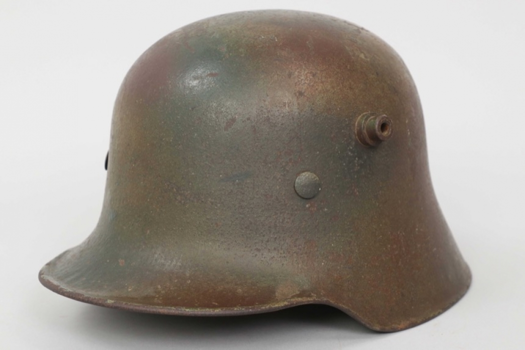 "Volkssturm M18 camo helmet - ""G.62"""