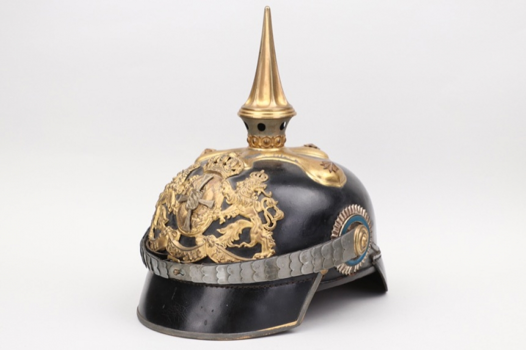 Bavaria - M1886 Chevauleger reserve officer's spike helmet