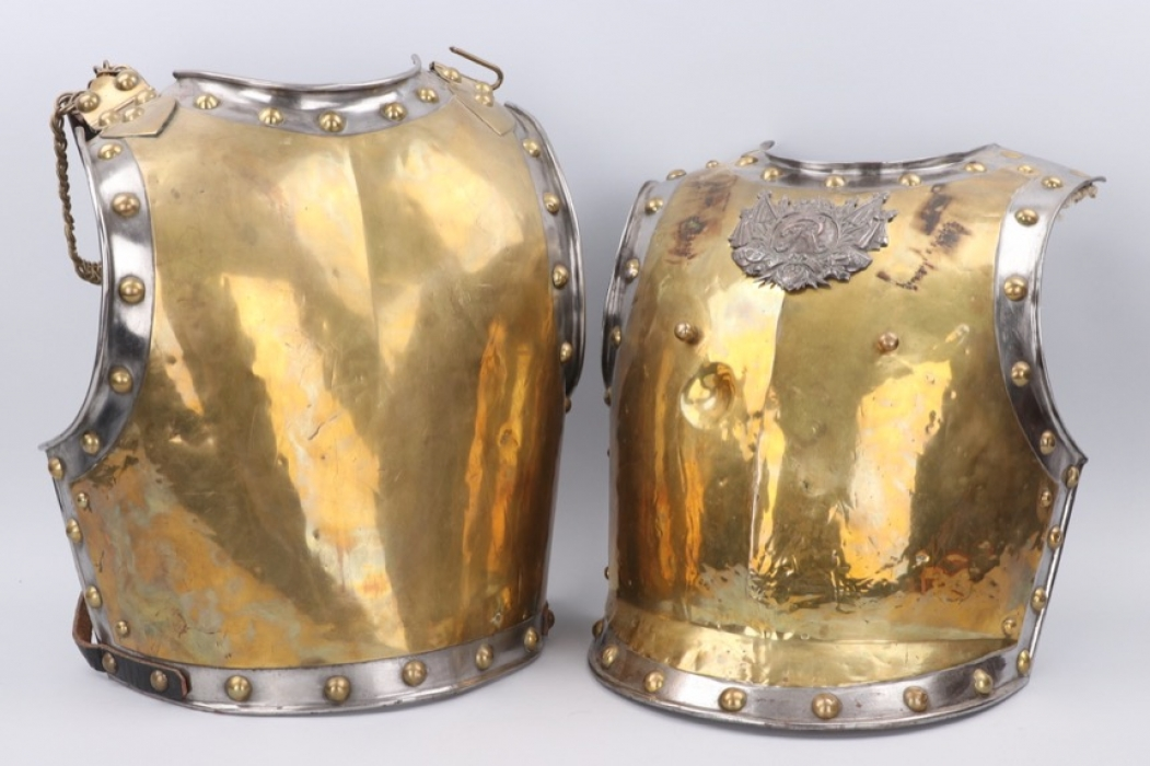 Prussia - Garde du Corps cuirass for enlisted men