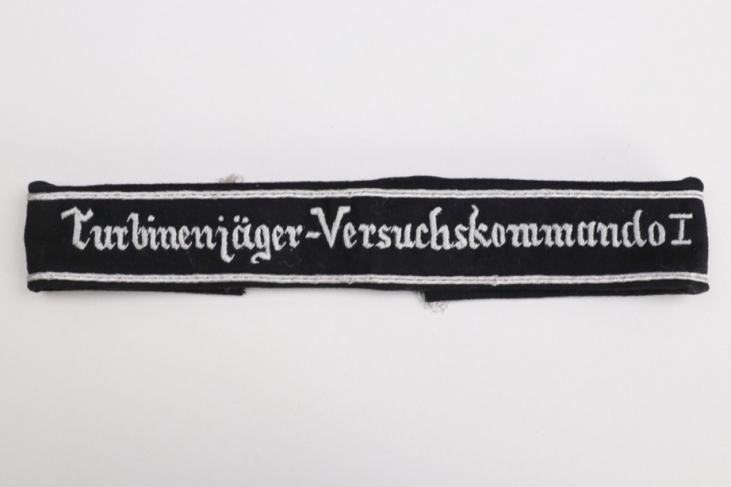 "Luftwaffe ""Turbinenjäger-Versuchskommando I"" officer's cuff title"