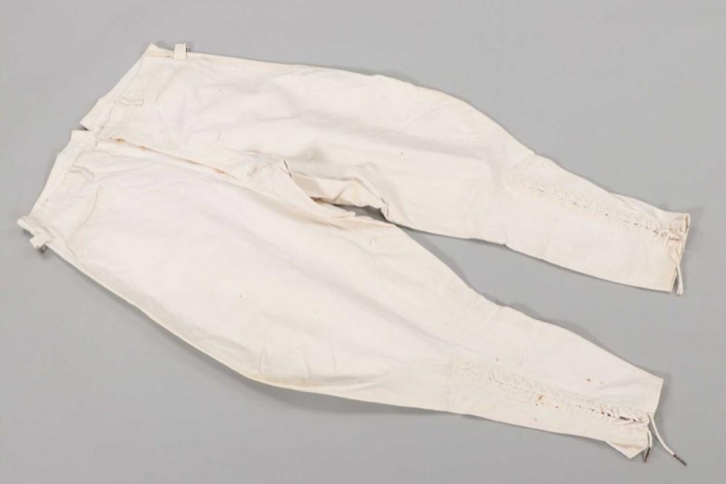 Imperial white officer's breeches