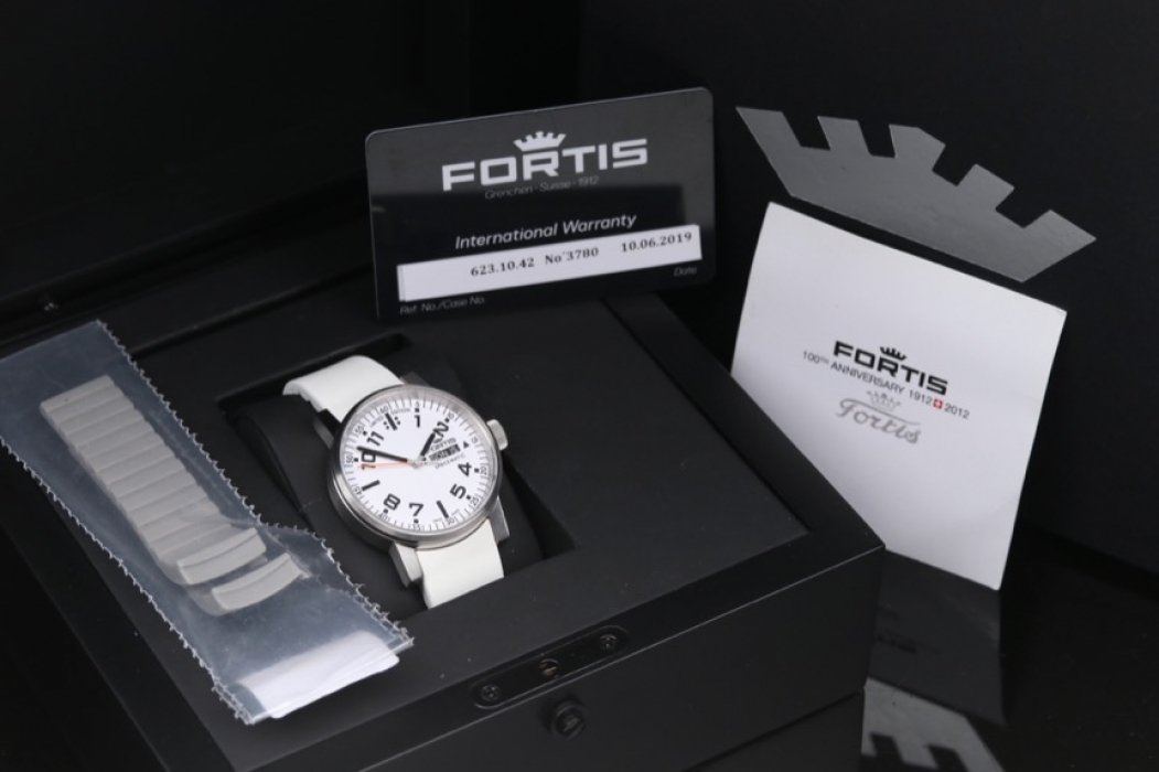 Fortis - Spacematic men's watch 2012 limited edition & box