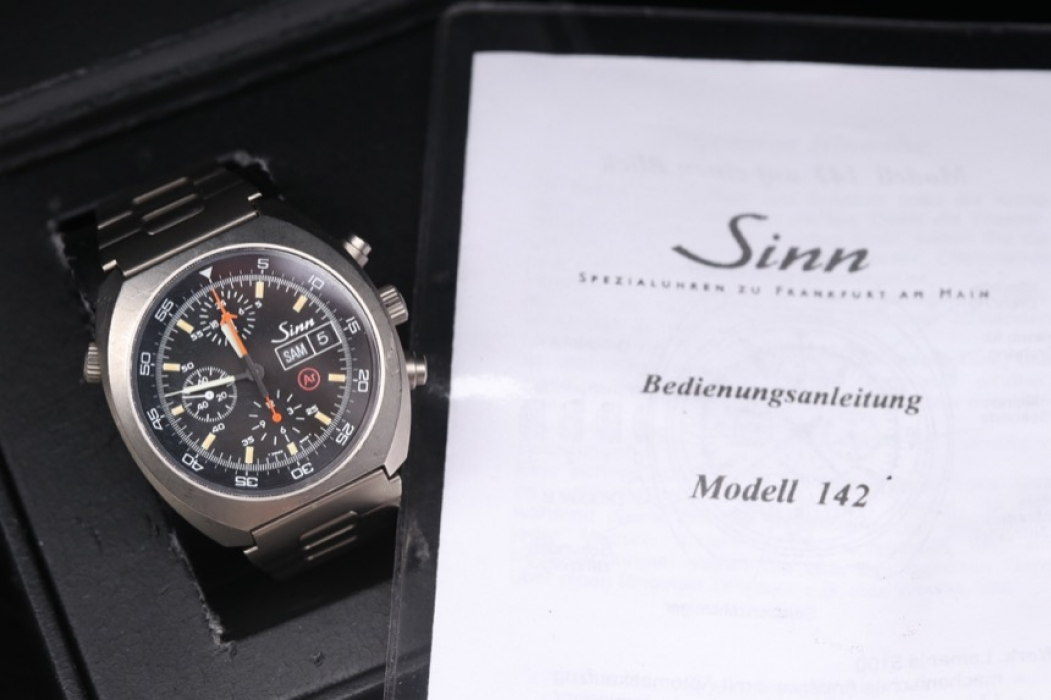 Sinn - Model 142 limited edition chronograph titan version