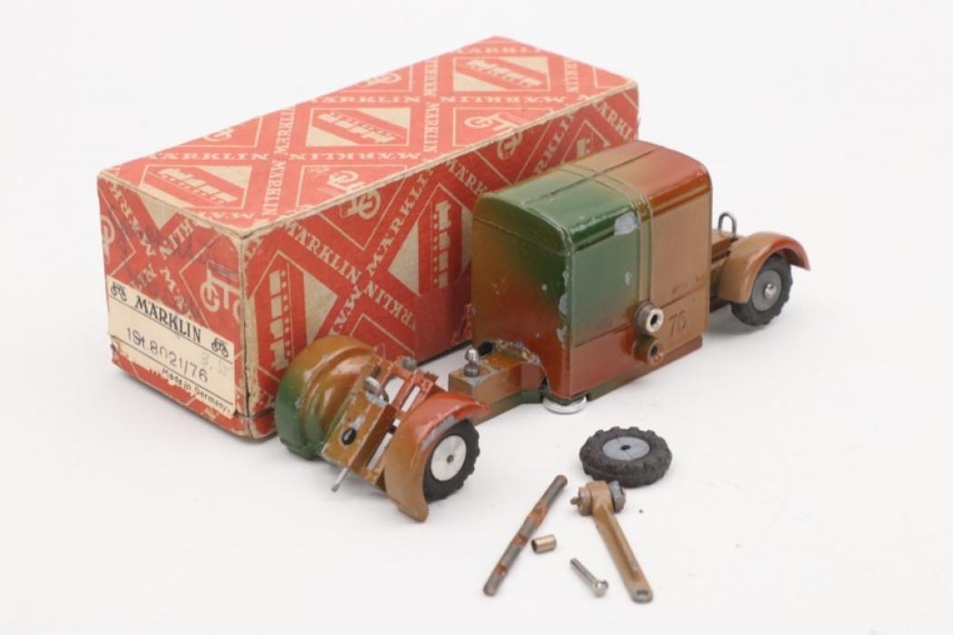 Märklin - Military camouflage truck trailer & box