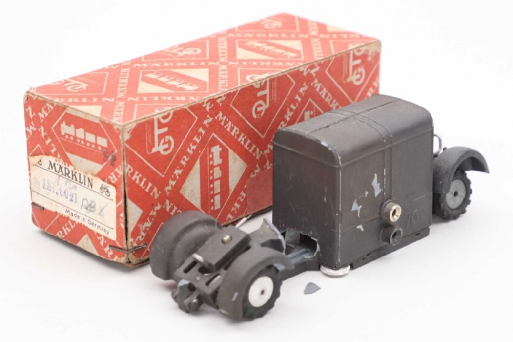 Märklin - Military truck trailer & box