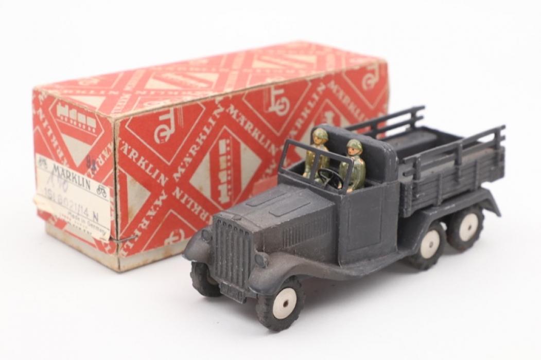 Märklin - Military truck & box