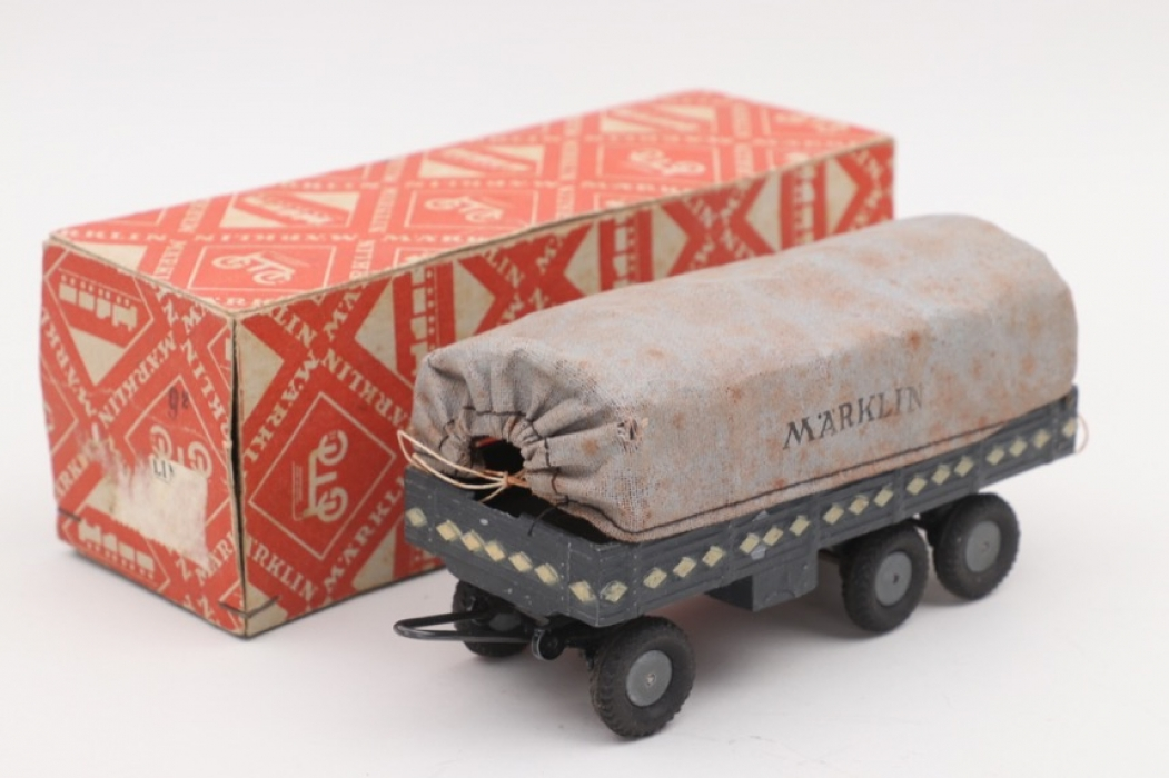 Märklin - Covered military truck wagon & box