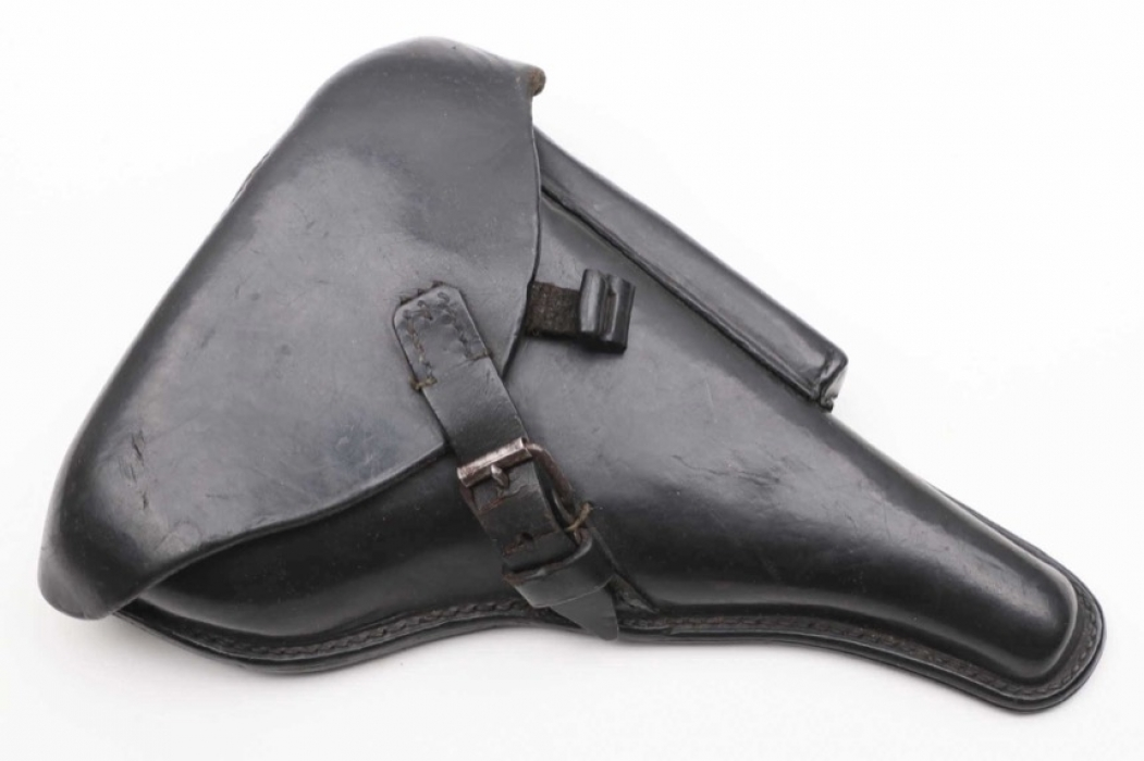 1915 WWI black P08 holster