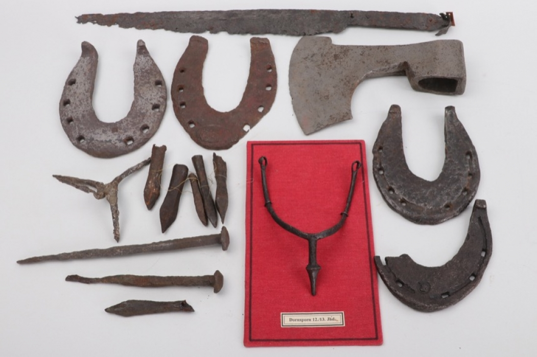 A Selection of Medieval Objects