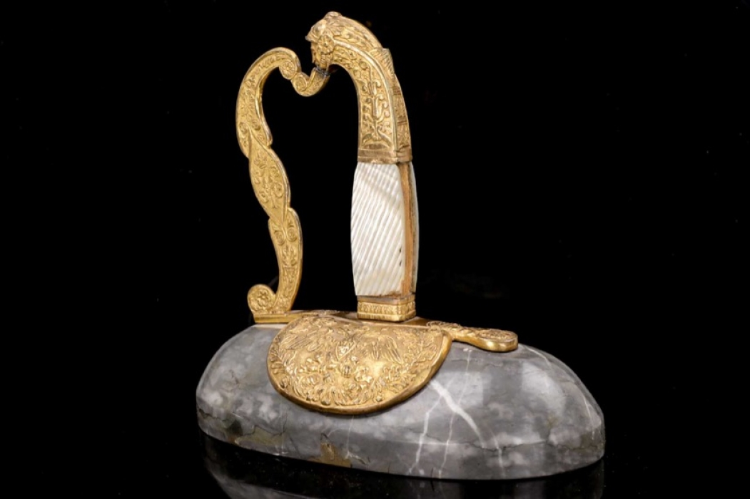 """Russian """"sword"""" table decoration/paperweight"""