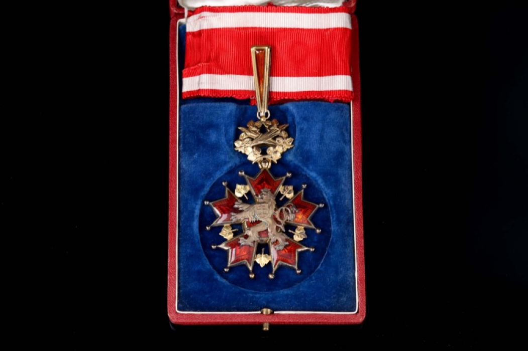 Czechoslovakia - Order of the White Lion - Class Commander