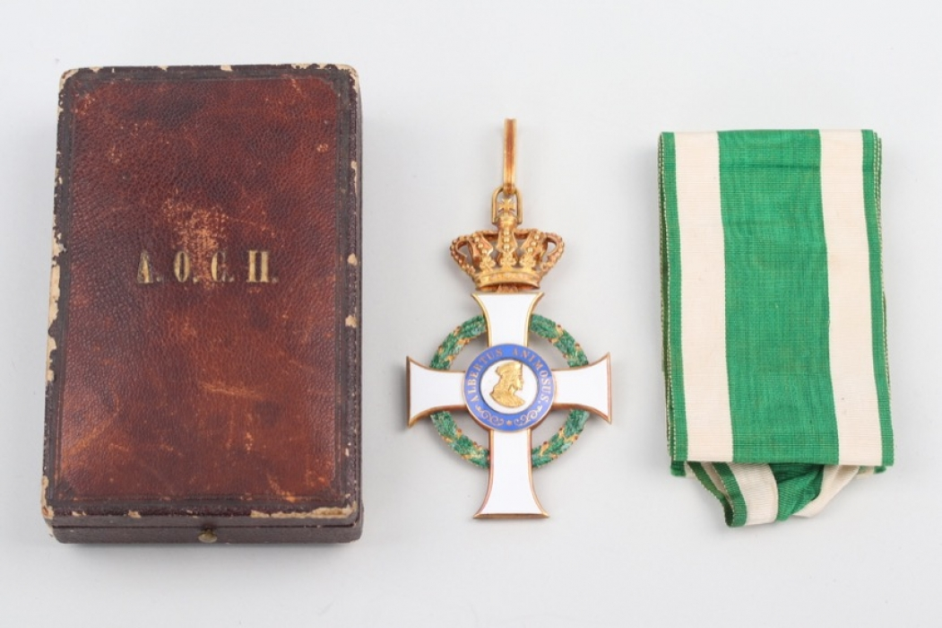 Saxony - Order of Albert, Commander Cross 2nd Class, 2nd Type