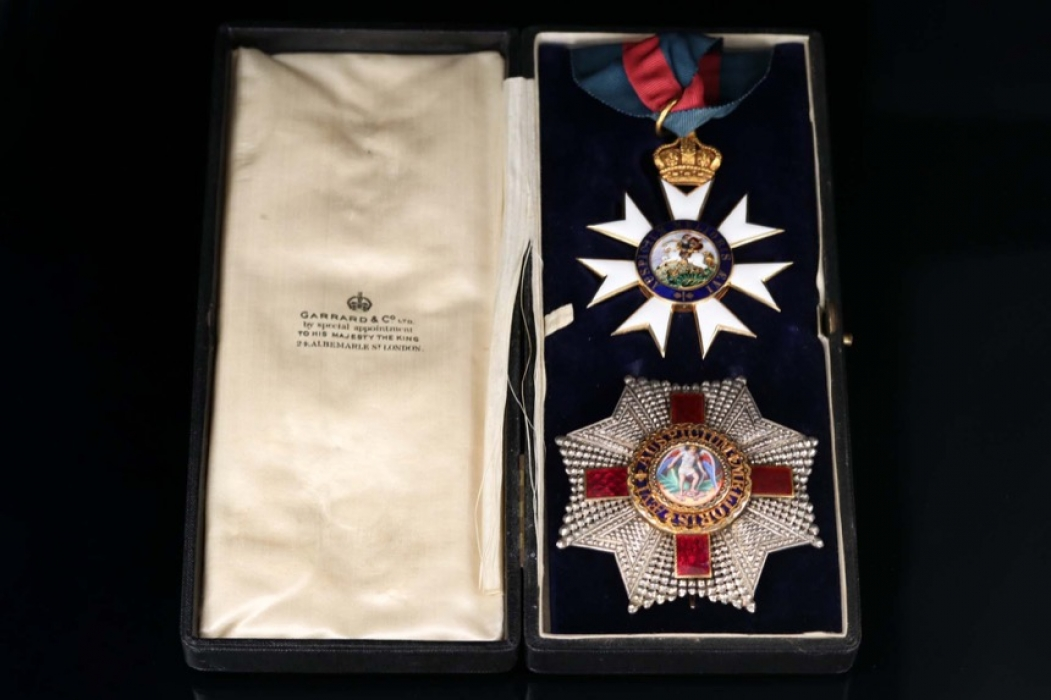 United Kingdom - Order of St. Michael and St. George - Knight Commander with Star