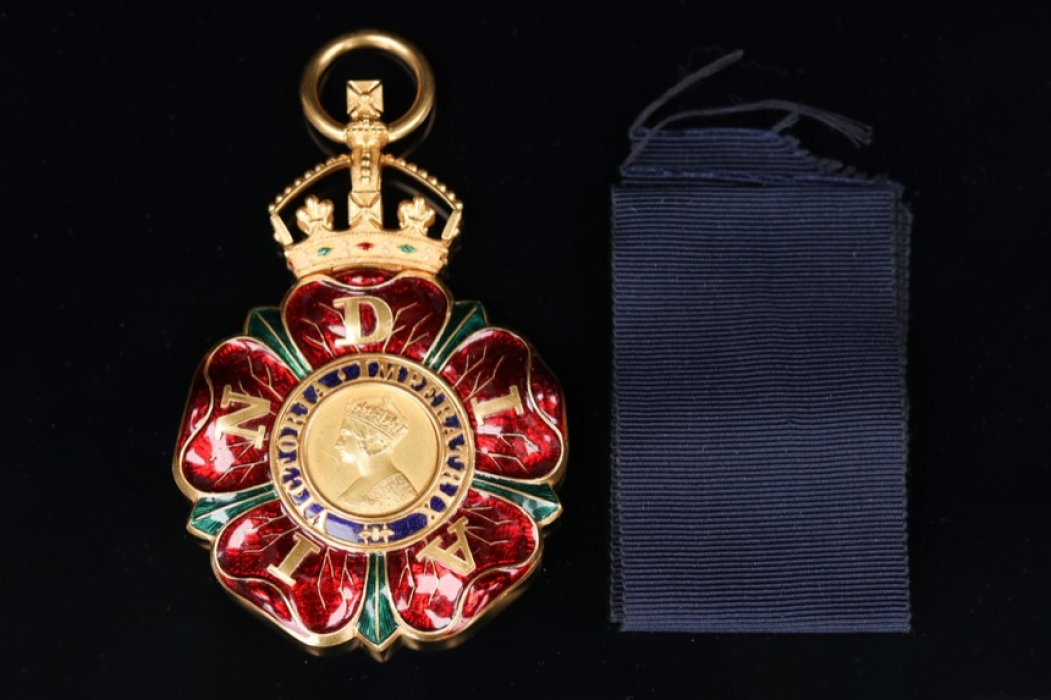 United Kingdom - The Most Eminent Order of the Indian Empire Knights Grand Commanders (GCIE) Neck Badge Type I