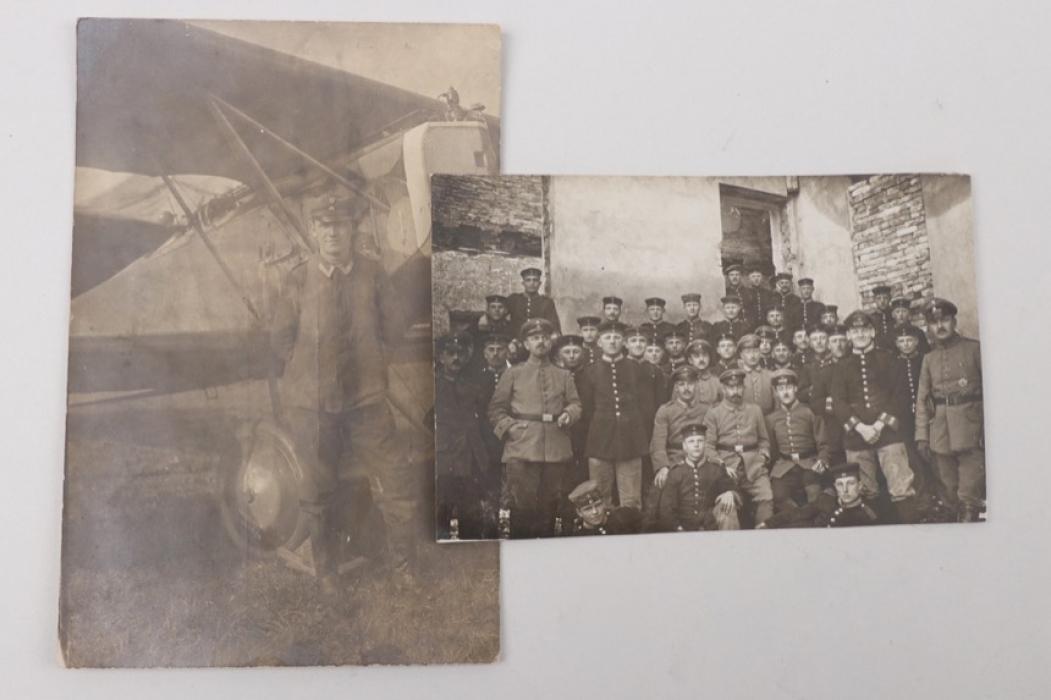 WWI Jagdstaffel 67 two photos