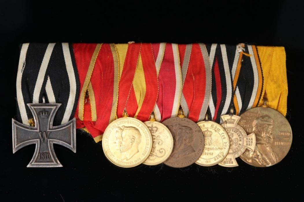Medal Bar to a Lippe Veteran