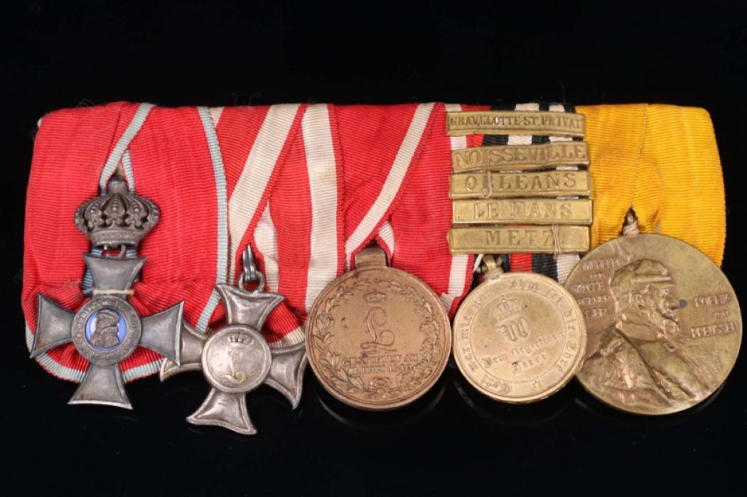 Medal Bar from a 1870/71 War Veteran