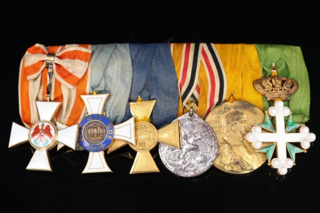Medal Bar - To Colonel Wilhelm von Henning