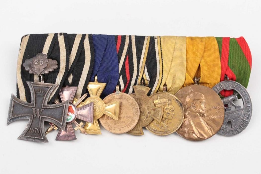Medal bar to Lieutenant General Martin von Goßler