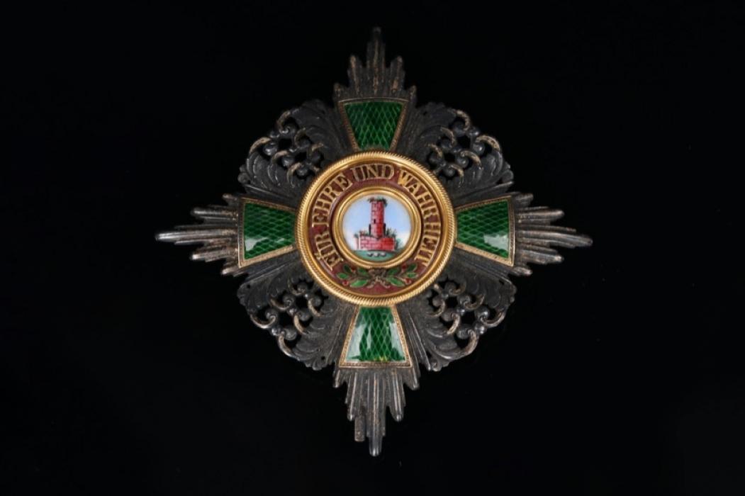 Baden - Order of the Zaehringer Lion - Commander Star