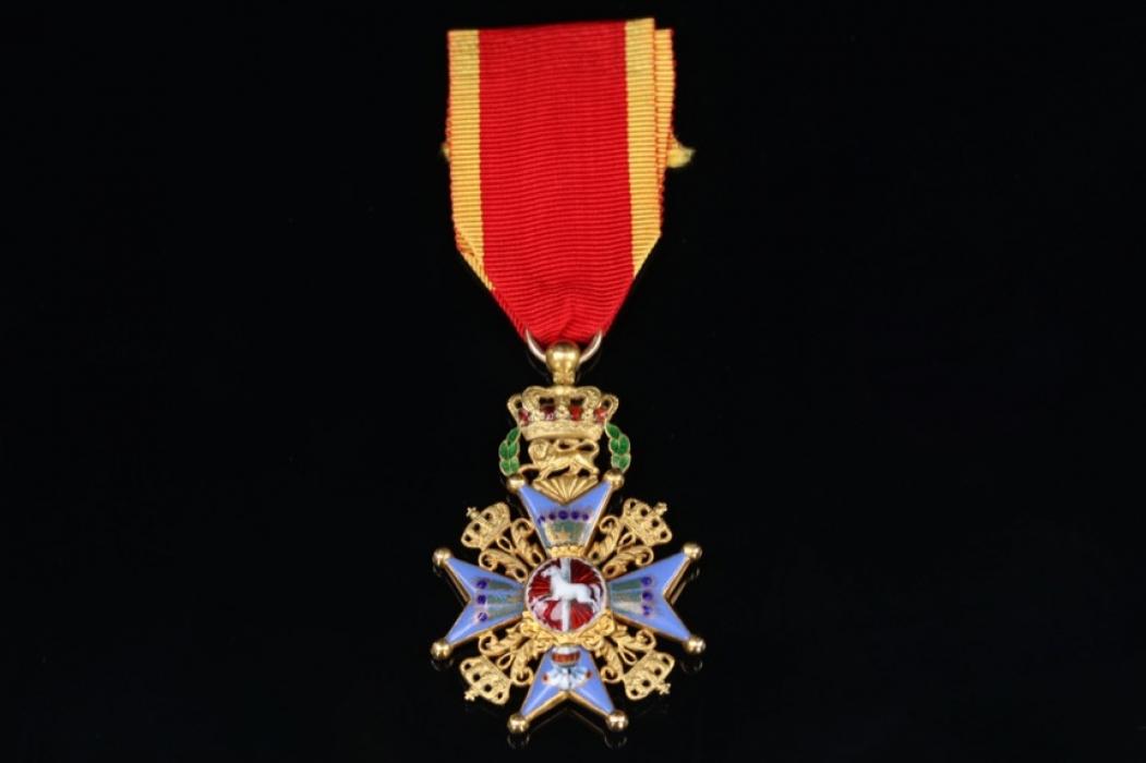 Brunwick - House Order of Henry the Lion - Knight Cross 1st Class