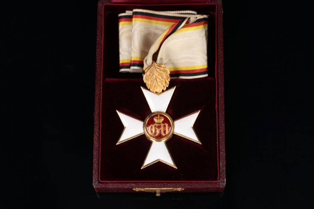 Waldeck - Military Merit Order 1st Class