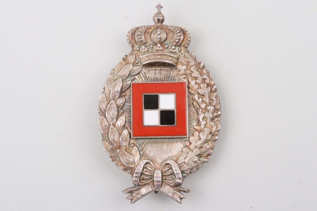 "Kingdom of Bavaria - Observer's Badge ""Poellath"" - SILBER"
