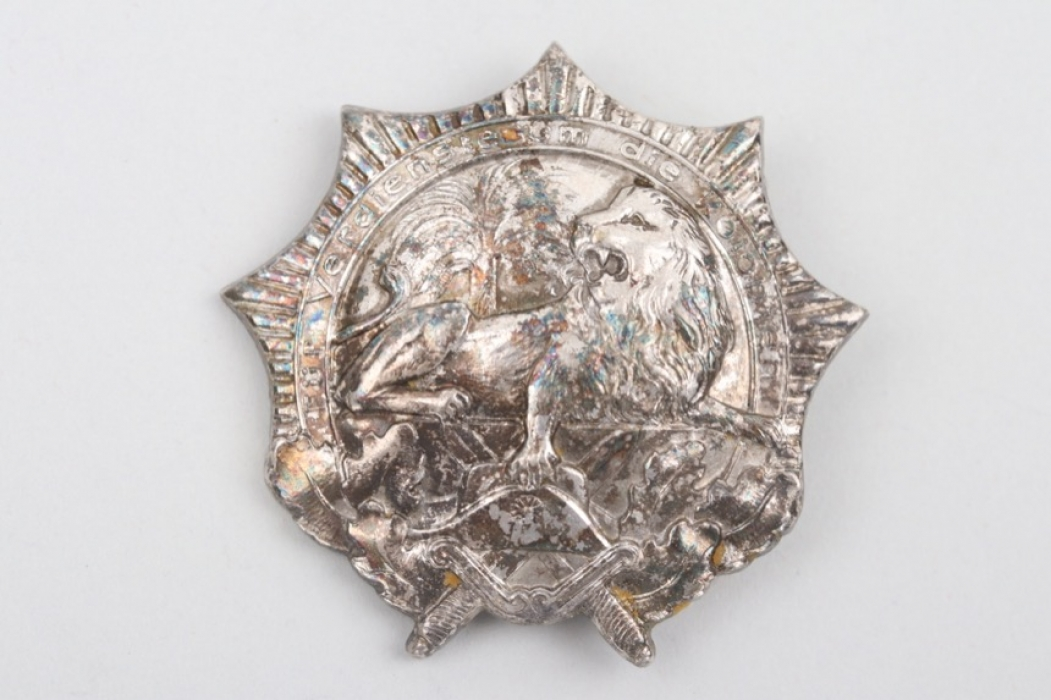 Colonial Badge - Lion Order in Silver