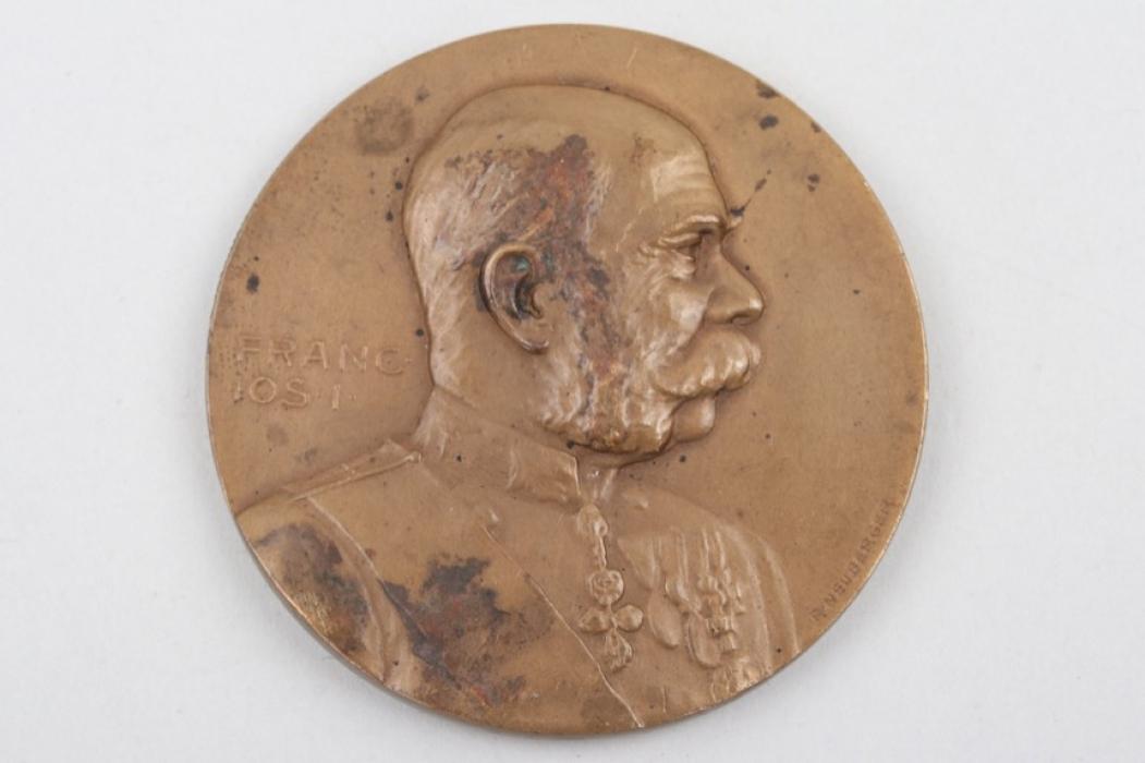 1914 Franz Joseph I bronze medal