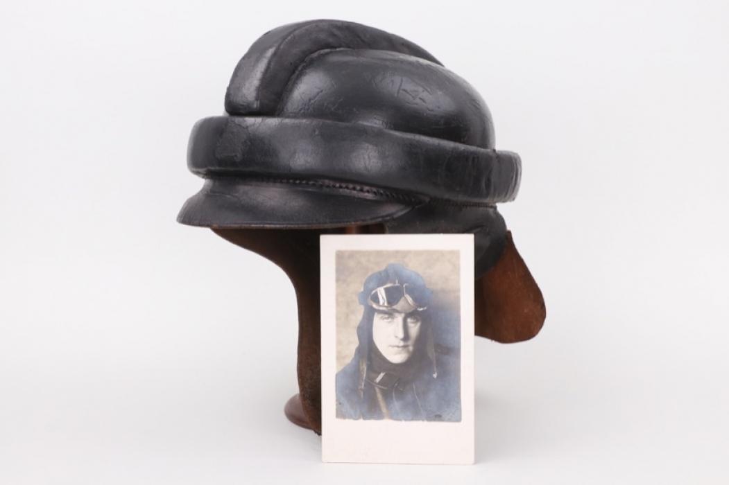 WWI German M1913 flight helmet