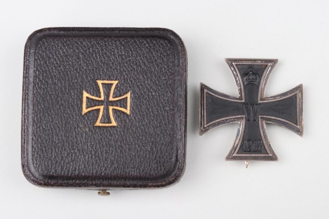 1914 Iron Cross 1st Class in case - 800 & CD