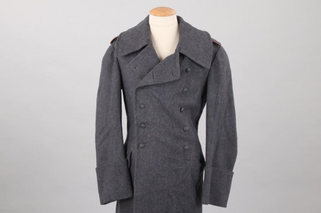 Luftwaffe field coat with signals EM shoulder boards