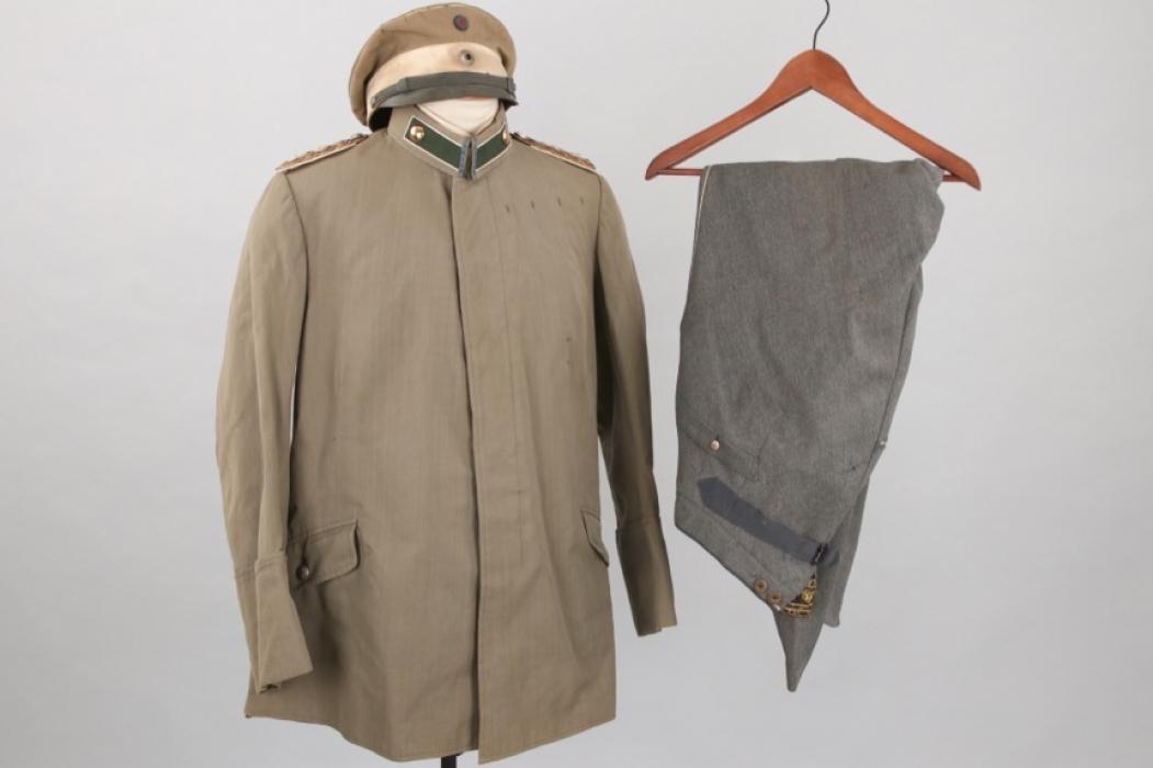 Prinz Alfons v. Bayern - personal uniform grouping Kgl. Bayer. 7. Chevaulegers-Regiment