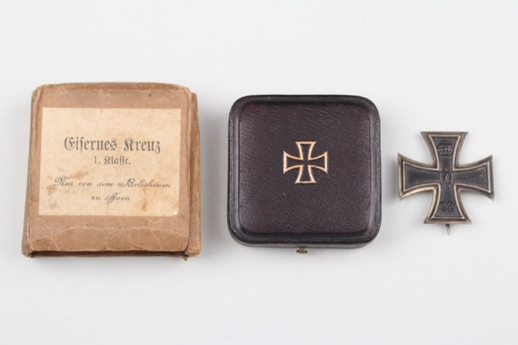 Finely engraved Iron Cross 1st Class, 1914