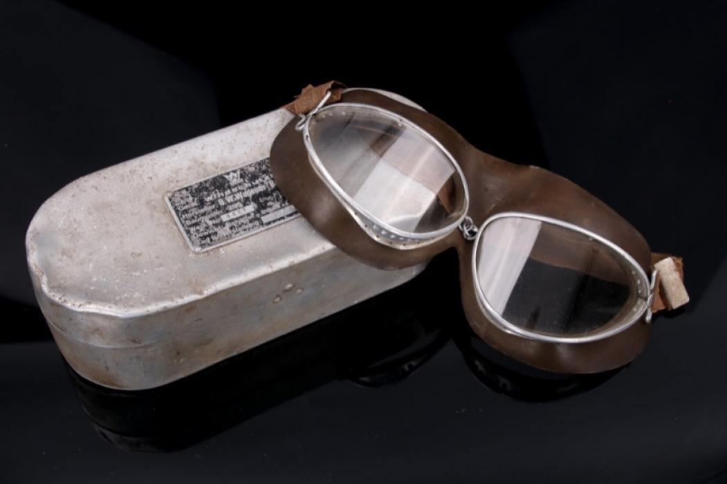 Luftwaffe - aviator goggles with box