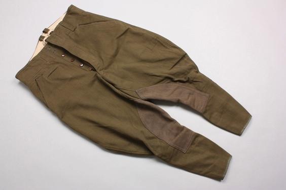 Unissued Afrikakorps breeches - 1942 maker marked