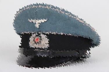 Third Reich Bahnschutz visor cap - EM/NCO