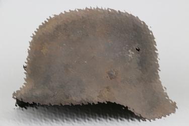 Wehrmacht M42 helmet - barn find