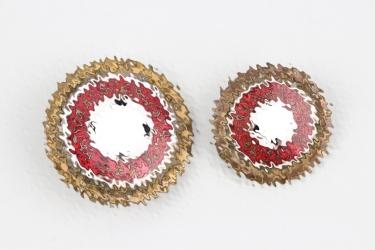 NSDAP Golden Party Badge - number matching set